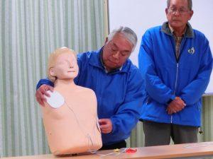 救命救急訓練指導