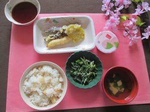 4月行事食 天ぷら
